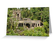 Paronella Park Castle Greeting Card
