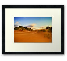Balmedie Beach Framed Print