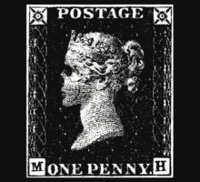 Penny Black Death by Ant101