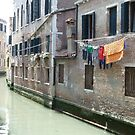 Washing Over The Canal by joycee