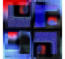 Symphony In Blue Major 2 Photographic Print