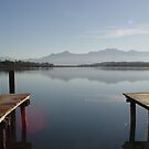 Chiemsee, Bayern by VolkerPA