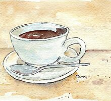 Coffee prayer by Maree Clarkson