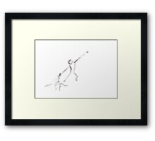 The Lifes Launcher Framed Print