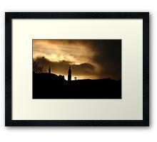 Sunrise over Edinburgh Framed Print