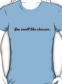 Castle&Beckett - You smell like cherries T-Shirt