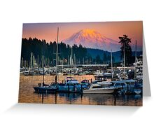 Gig Harbor Sunset Greeting Card