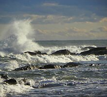 High Winds and High Waves by MaryinMaine