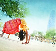 Yoga a Barcelona Calendar  by Wari Om  Yoga Photography