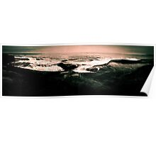 Peggy's Cove Shore Pano Poster