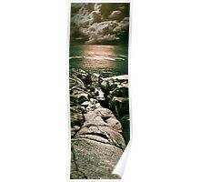 Peggy's Cove Vertical Pano Poster