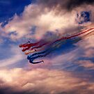 Red Arrows 1 by Epicurian