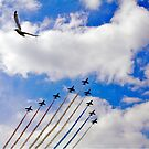 Red Arrows 7 by Epicurian