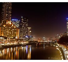 Melbourne in fog by bluetaipan