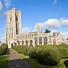 Lavenham church (St Paul and St Peter) by Ian Merton