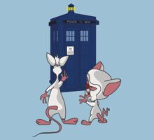 Brain has the Tardis! by redrockit