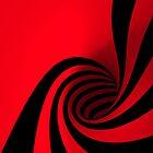 Carmine Swirlstract by eyevoodoo
