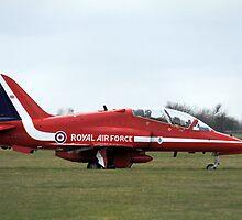 Red Arrows Hawk T1 by PhilEAF92