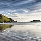 Rhosilli Bay, Wales by Rick  Senley