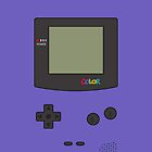 Gameboy Color iPhone/iPad Cases! (Grape) by Venum Spotah