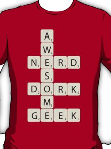 Awesome Scrabble T-Shirt