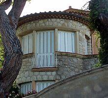 A House On Cap Ferrat by Fara