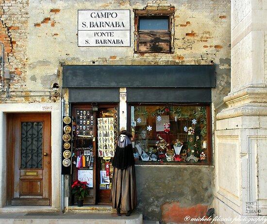 A Traditional Shop in Venice by Michele Filoscia