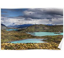 The Lakes of Torres del Paine #1 Poster