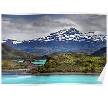 The Lakes of Torres del Paine #2 Poster