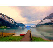 Norwegian Landscape IV Photographic Print