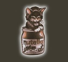 Kitten <3 Nutella by Tim  Shumate