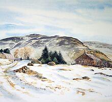 Glen Lochsie Farm, Perthshire. Scotland by Joyce Grubb