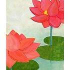 Lotus iphone case by Sam K
