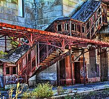 Stairway to the Past by Jim  Egner