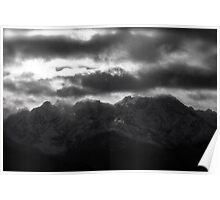 Remembers - Tatra Mountains . by Brown Sugar . Merry Christmas and Happy New Year 2013 ! Poster