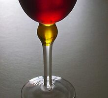 Wine glass art by flexigav