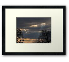 Angel Ladder Framed Print