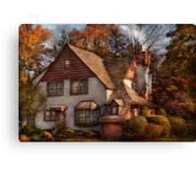 Cottage - Westfield, NJ - Family Cottage Canvas Print