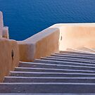 Steps Down To The Aegean by phil decocco