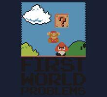 First World Problems (Black) Kids Clothes