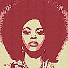 JILL SCOTT - POP ART by Terry Collett