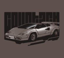 Halftone Countach by ChickenSashimi