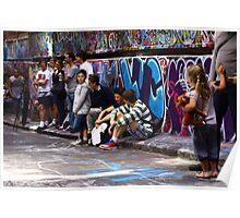 Graffiti 'gallery' Poster