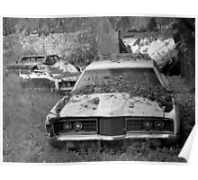 Car cemetery Poster