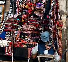 People 4369 Sucre, Bolivia by Mart Delvalle