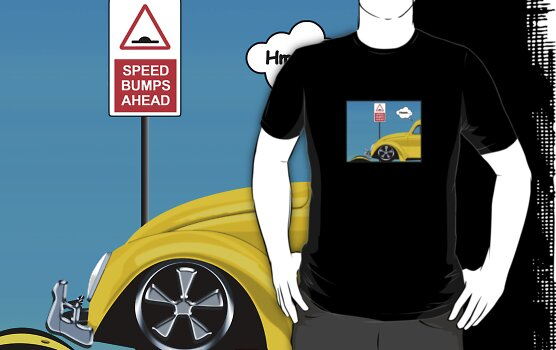 Speed bumps! (yellow) by MrDeath