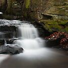 Lumsdale falls Matlock  by Elaine123