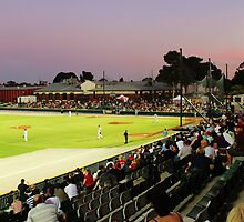 Baseball - Melbourne Aces Vs Sydney Bluesox, Dec. 2011 by brendanscully