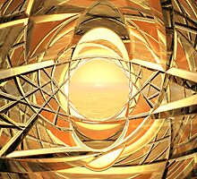 Golden Lattice by Hugh Fathers