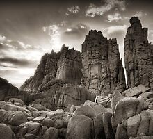 Stacked Skyward - The Pinnacles, Phillip Island by Sean Farrow